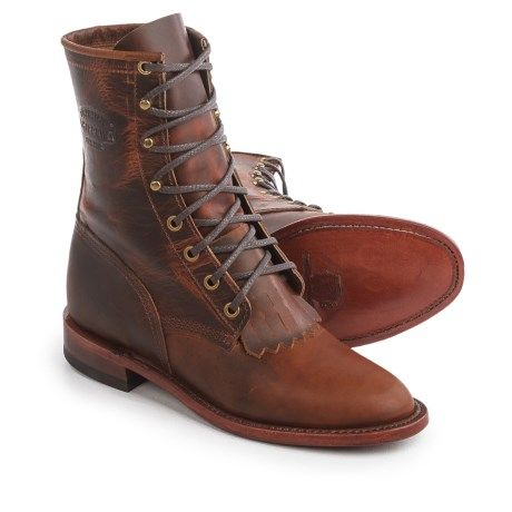 bf824481a58 Chippewa Renegade Original Lacer Leather Boots - Removable Kiltie, 8 ...