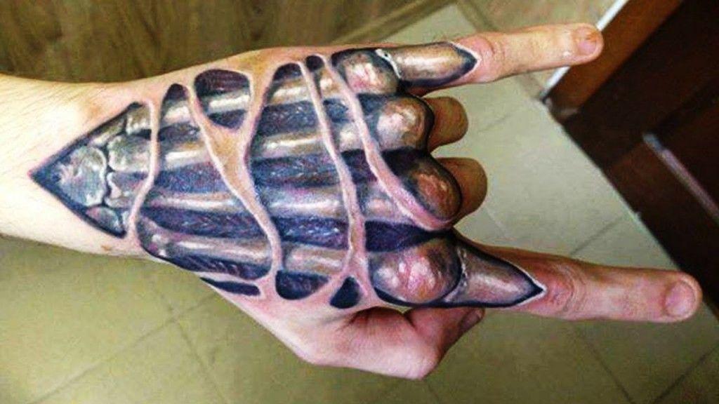 3d Hand Tattoo Designs 3d Tattoos Best 3d Tattoos 3d Tattoo