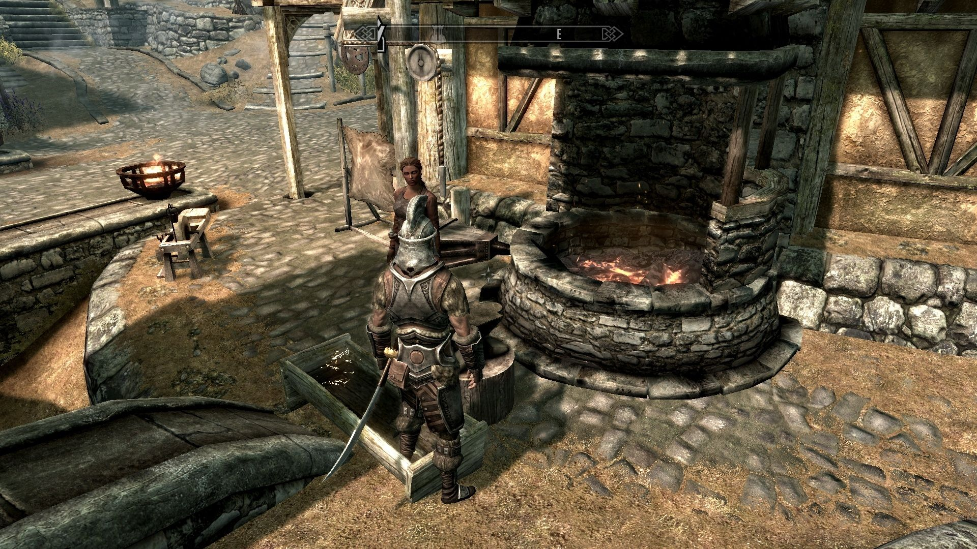 blacksmith forge skyrim - photo #1