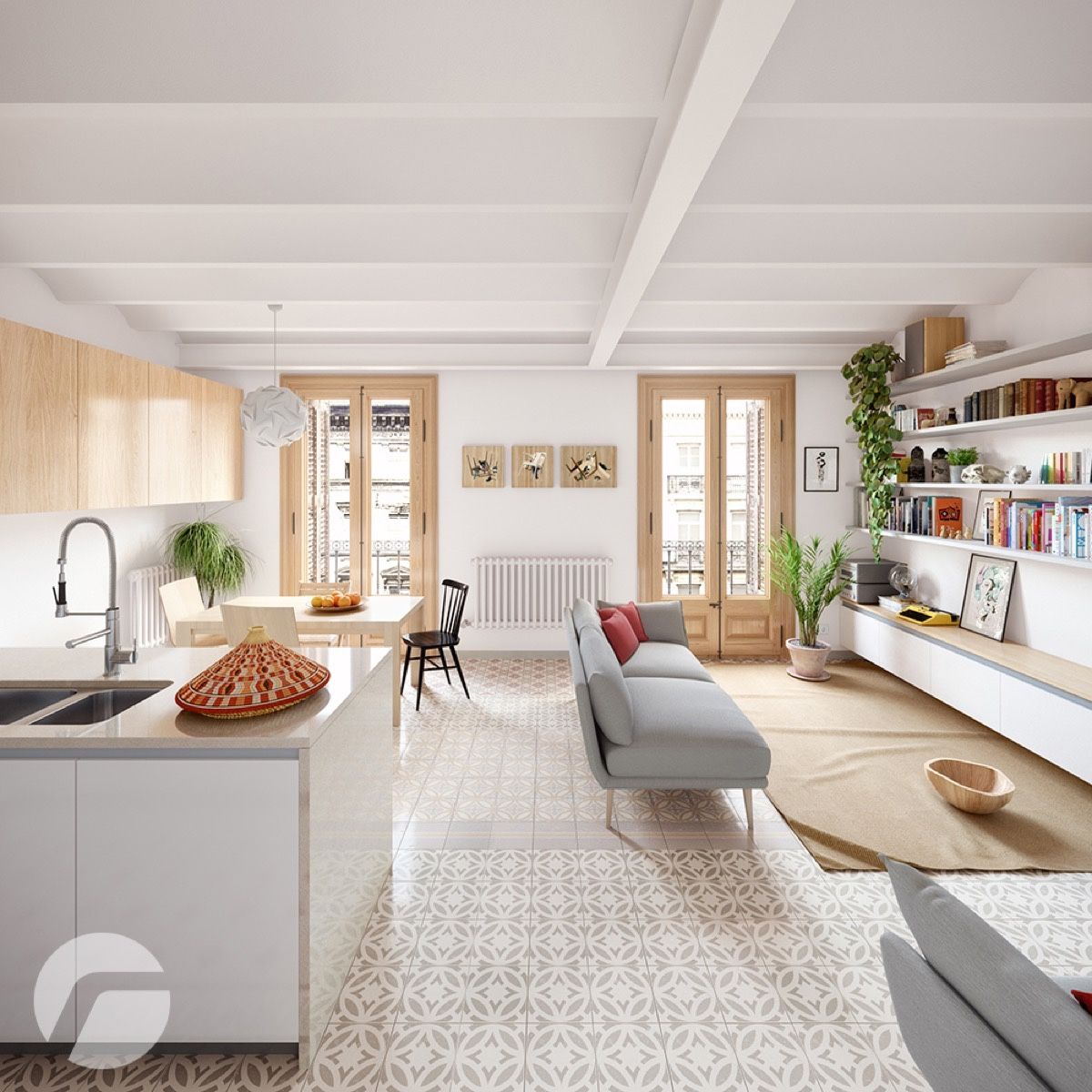 10 Stunning Apartments That Show Off The Beauty Of Nordic Interior Design Apartment Interior Nordic Interior Design Country Style Interiors