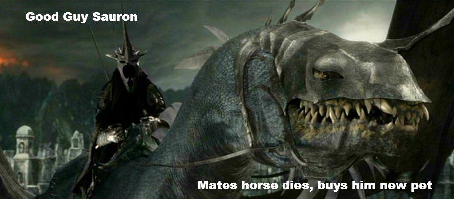 Sauron Appreciation - Imgur