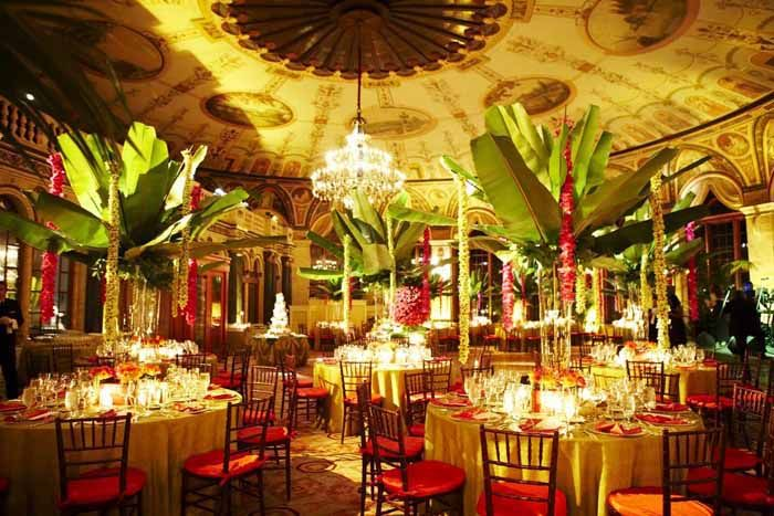 10 Best Caribbean Centerpieces Images On Pinterest: Caribbean-inspired Wedding Dinner By The Design Studio At