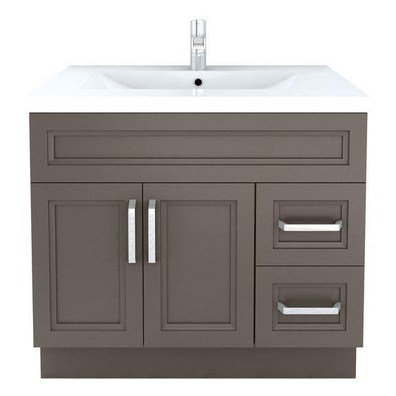 Cutler Kitchen Bath Urban Sundown Contemporary Bathroom Vanity - Lowe's canada bathroom vanities for bathroom decor ideas
