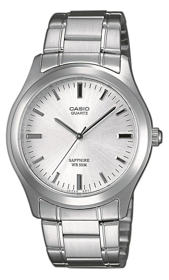 Casio Collection MTP 1200A-7AVEF karóra. Elemmel működő óraszerkezetet  kapott az ezüst e0e0665e30