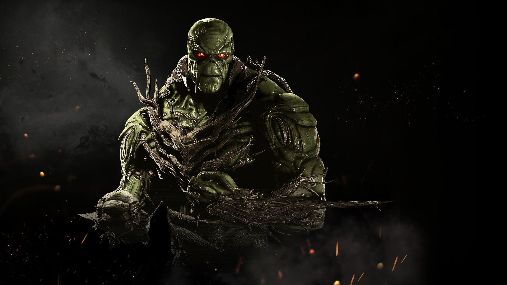 Awesome Swamp Thing Injustice 2 Game 1920x1080 Check More