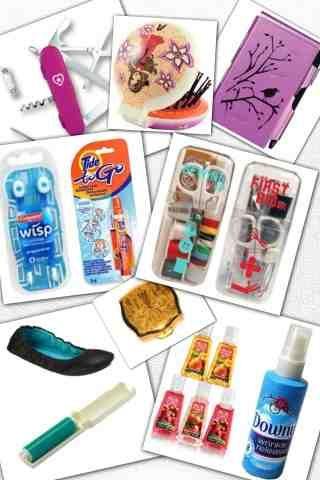 12 Purse Essentials A Woman S Survival Kit