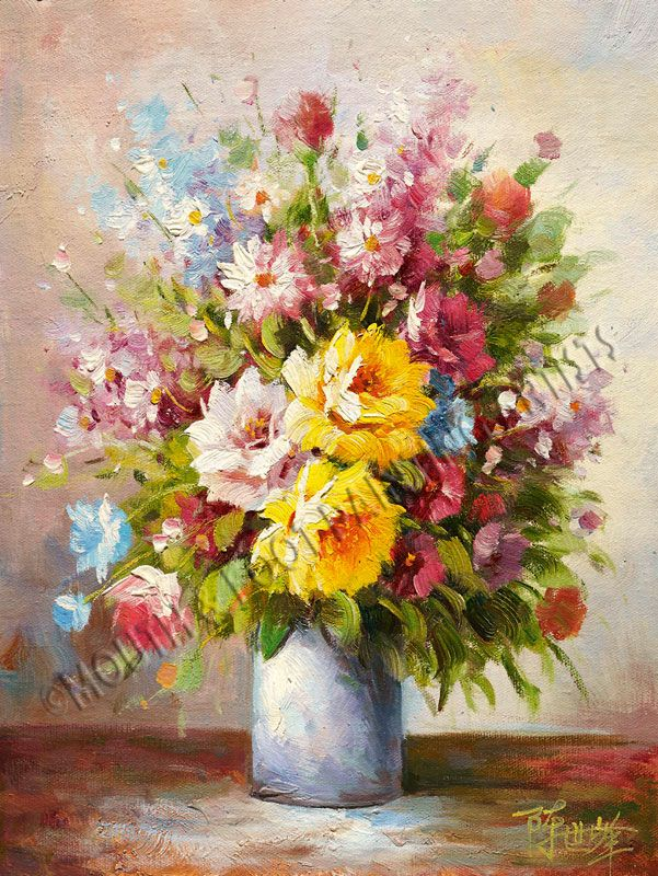 Imfpa Indian Mouth Foot Painting Artists Flower Painting Painting Artist Painting