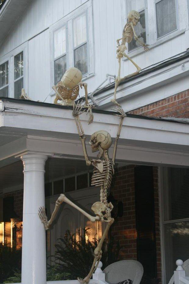 30 Cheap Halloween Decorations Ideas Halloween Pinterest