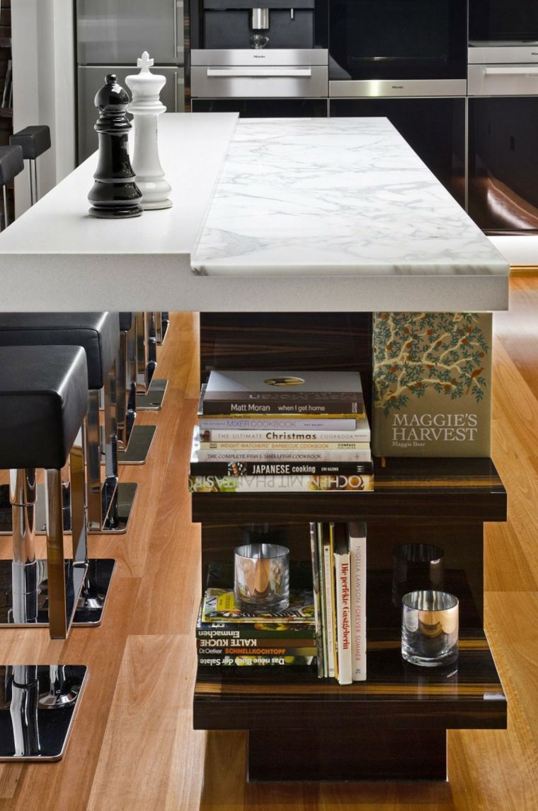 cocina diseñada por Darren James | Interiores para cocina ...