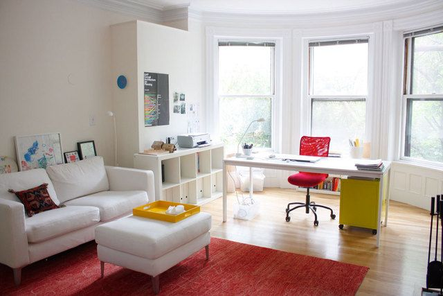 Apartment Therapy Living Room Office Combo Living Room Office Office Living Room Combo