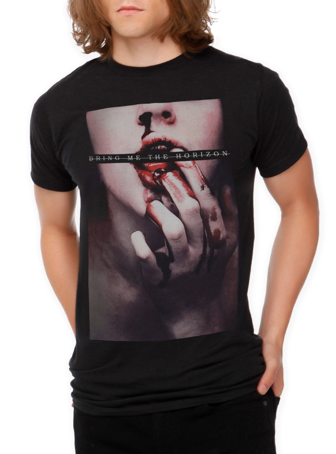 d9ad37187b7b6 Bring Me The Horizon Blood Lust Slim-Fit T-Shirt