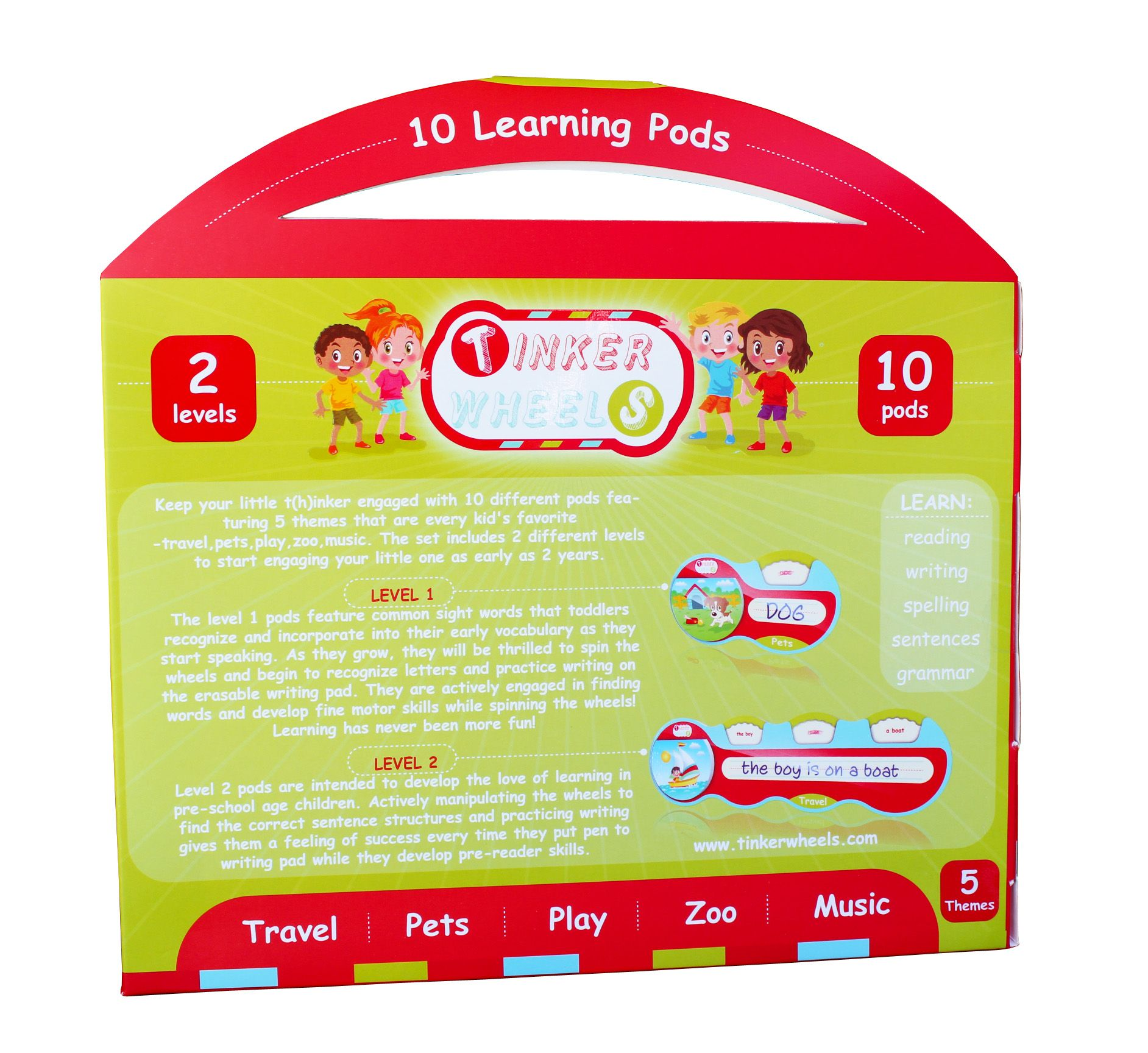 Tinker Wheels is a unique learning toy for preschool kindergarten