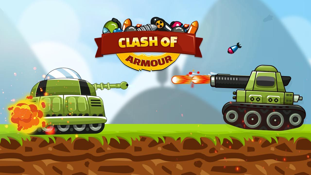 Clash Of Armor Is A Real Time Strategy Tank Game The Goal Is To Destroy The Enemy Defenses By Deploying A Battali Crazy Games Real Time Strategy Powerful Tank