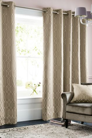 Buy Lattice Geo Eyelet Curtains Online Today At Next Rep Of Ireland