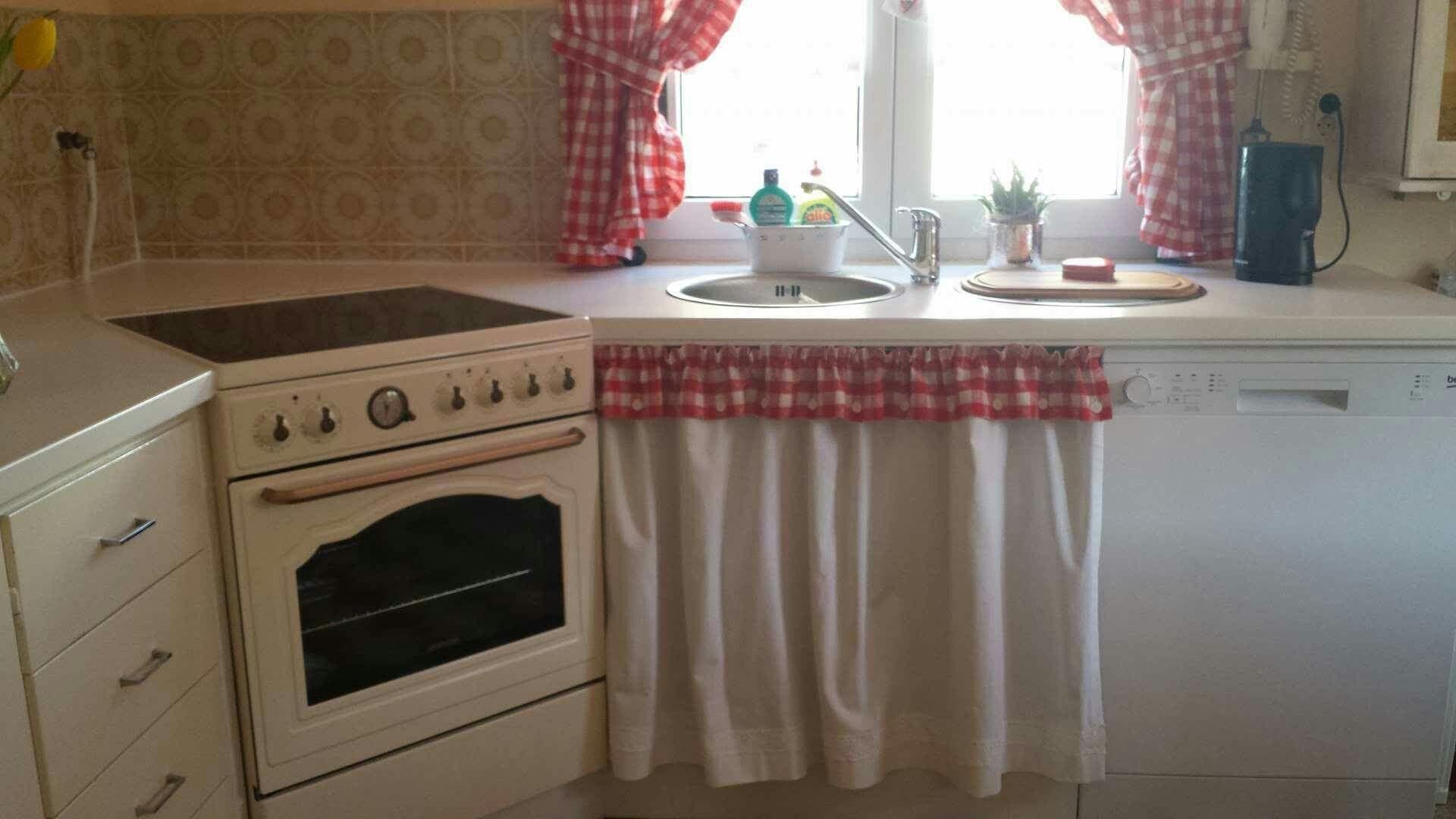 Küchenvorhänge ❤❤❤❤ Küchenumbau Landhausstil | SCHÖN UND ... | {Küchenumbau 3}