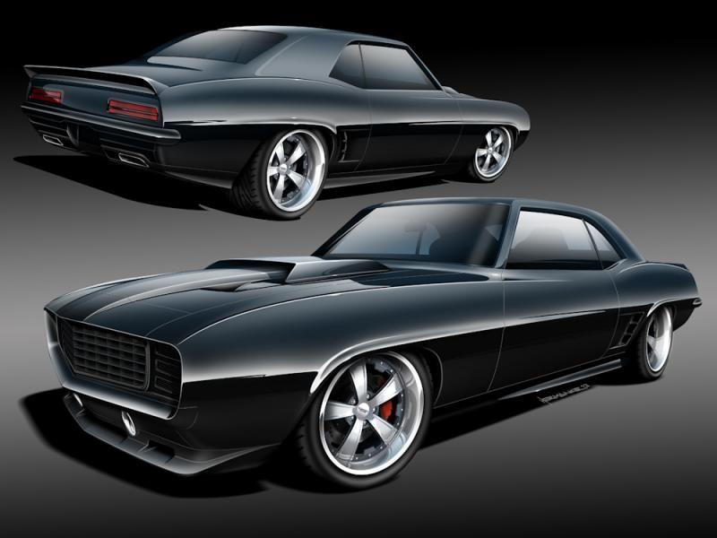 alex 39 s 1969 hellcat camaro classic car studio st louis missouri cars pinterest. Black Bedroom Furniture Sets. Home Design Ideas