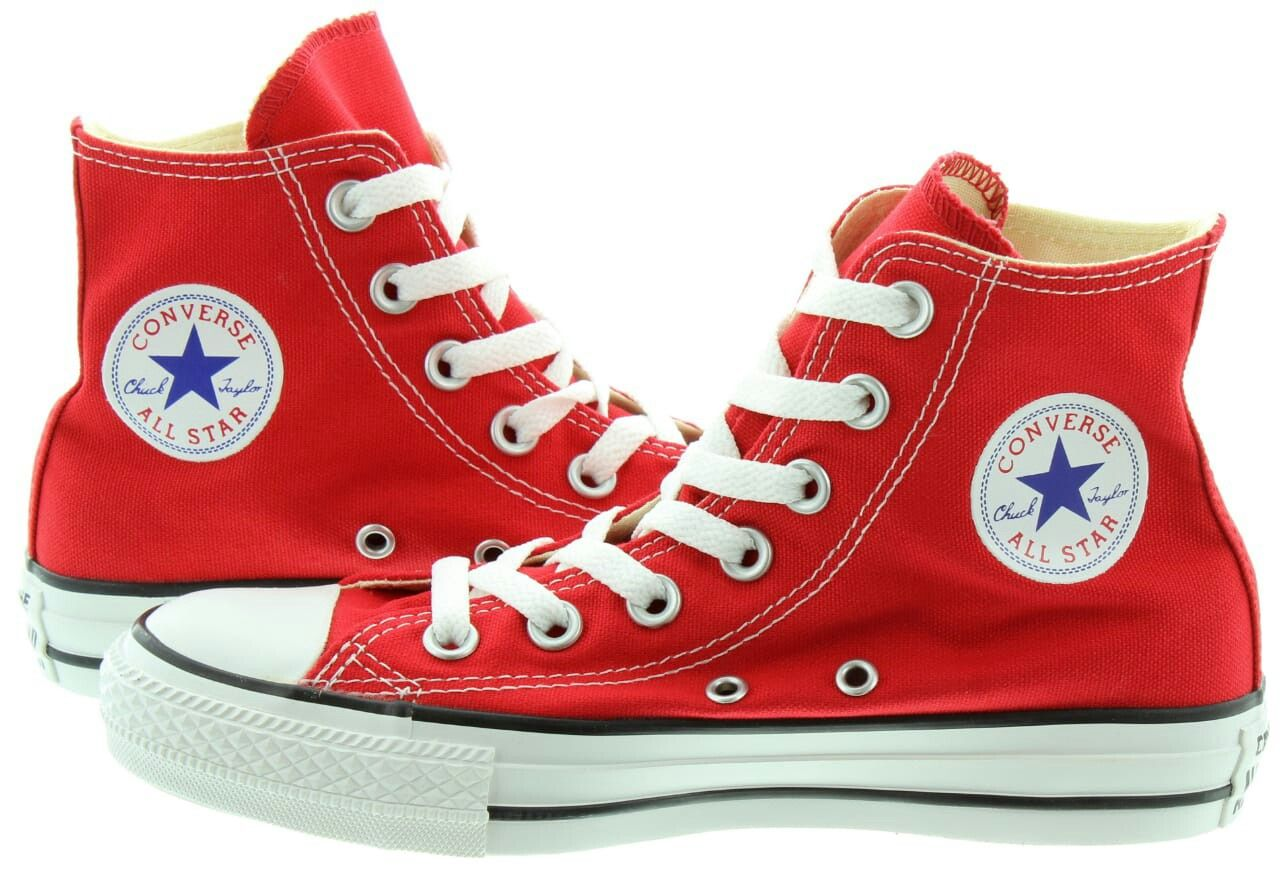 Red converse | Converse boots, Red
