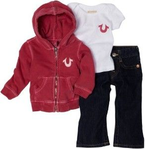 Baby True Religion Outfits | True Religion Baby 3 Piece Gift Box ...