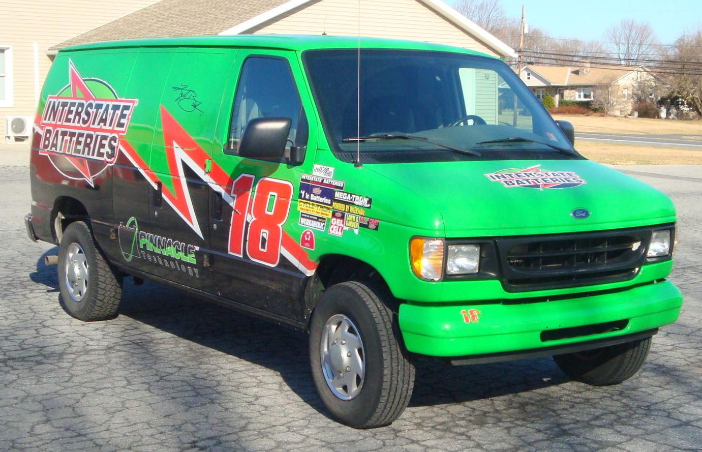Interstate Battery Of Allentown Ford E250 Commercial Cargo Van Transform Your Commercial Delivery Business Into A Safe Fleet Operati Ford E250 Cargo Van Fleet