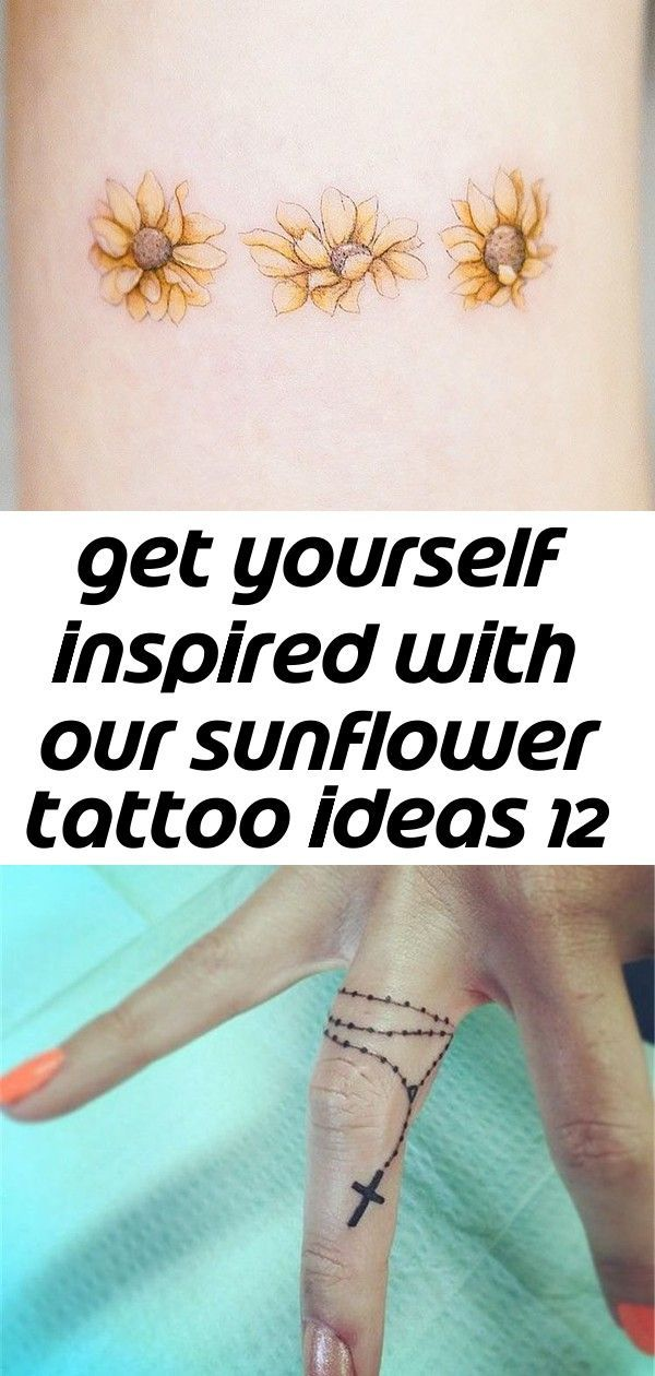 Photo of Get yourself inspired with our sunflower tattoo ideas 12,  #ideas #Inspired #Sunflower #Tatto…