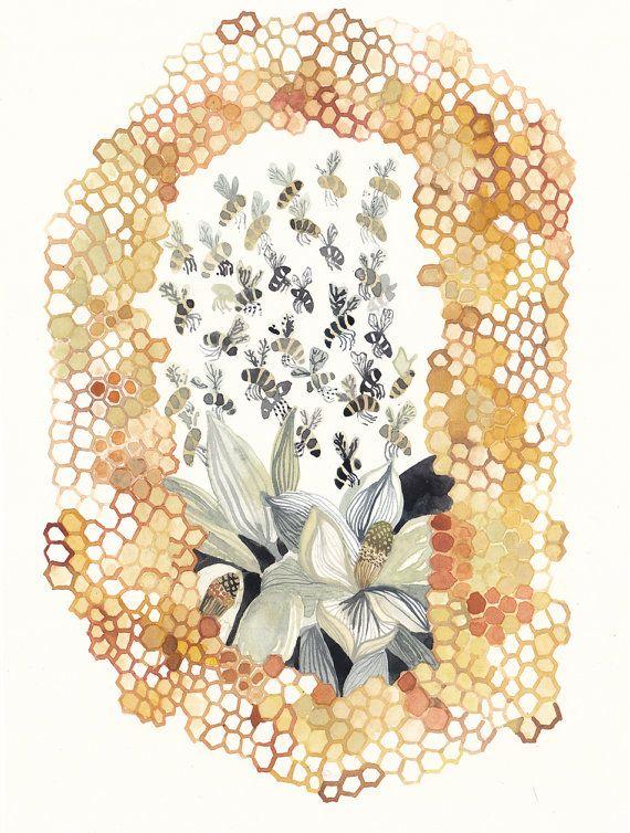 Hive - Original painting