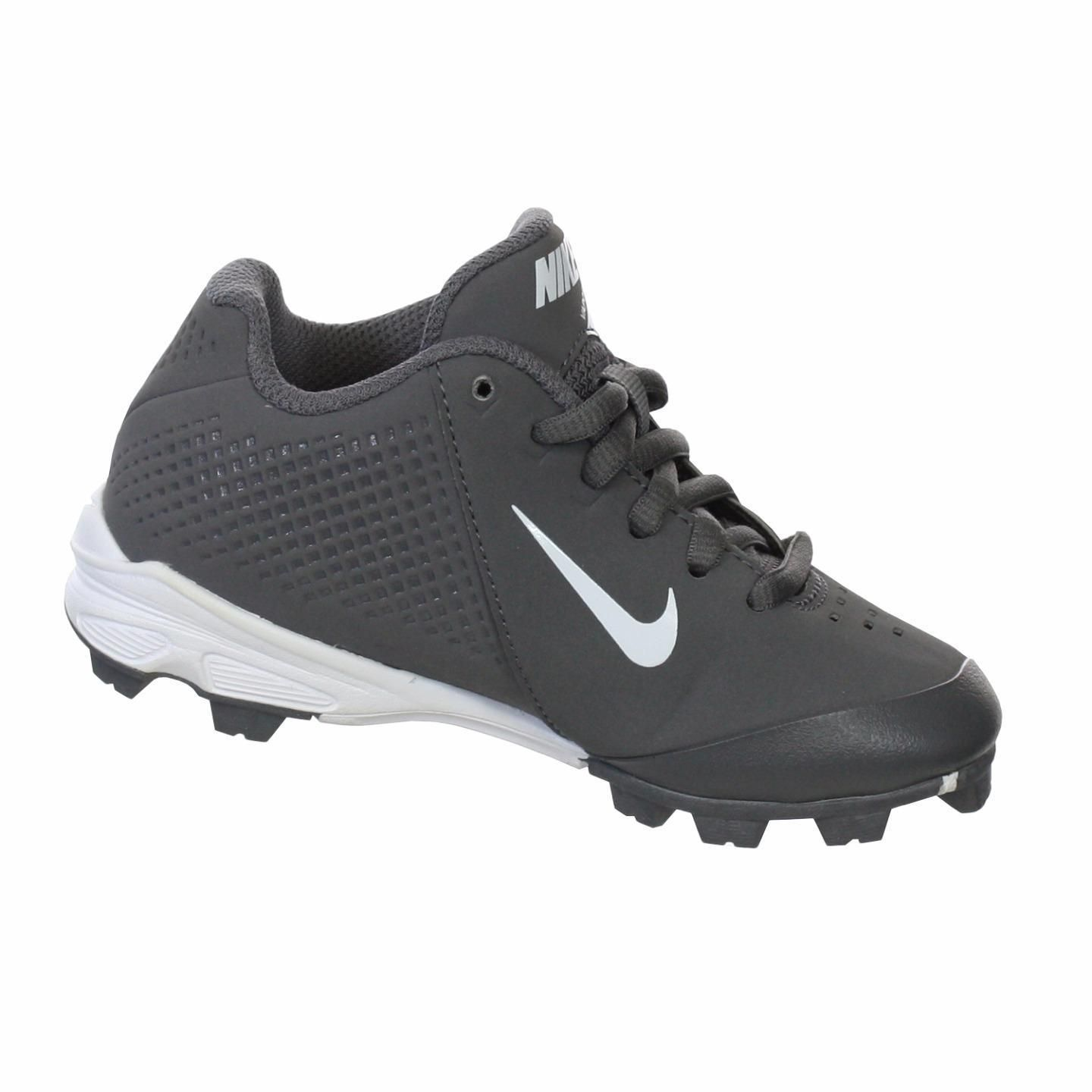 Nike Boy\u0027s Vapor Keystone Graphite/ Low-cut Molded Baseball Cleats.  Softball CleatsGraphiteAthletic ShoesChildrenImageBoysLink
