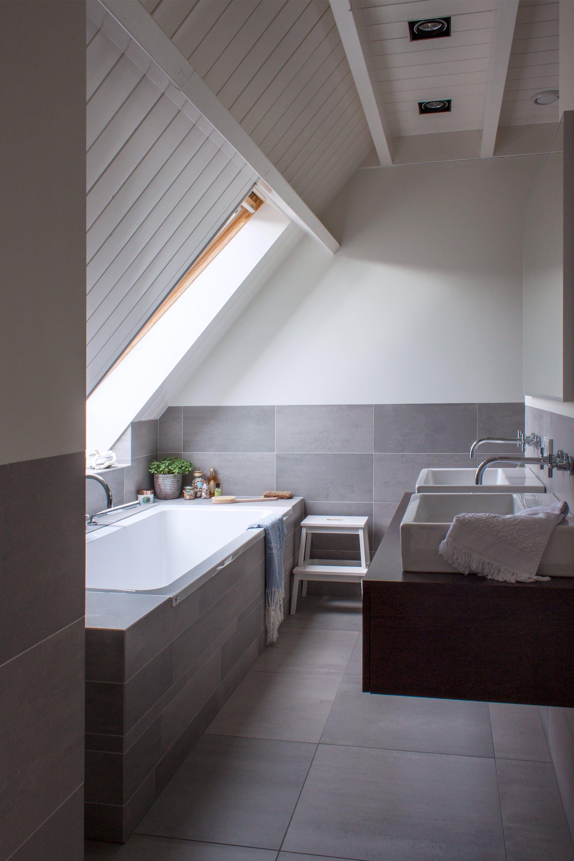 astounding calming modern minimalist bathroom white | A Crafter's Colorful Modern Dutch Farmhouse | Modern ...