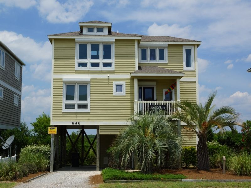 Holden Beach Nc Hotel California 646 Obw A 3 Bedroom Boulevard Second Row