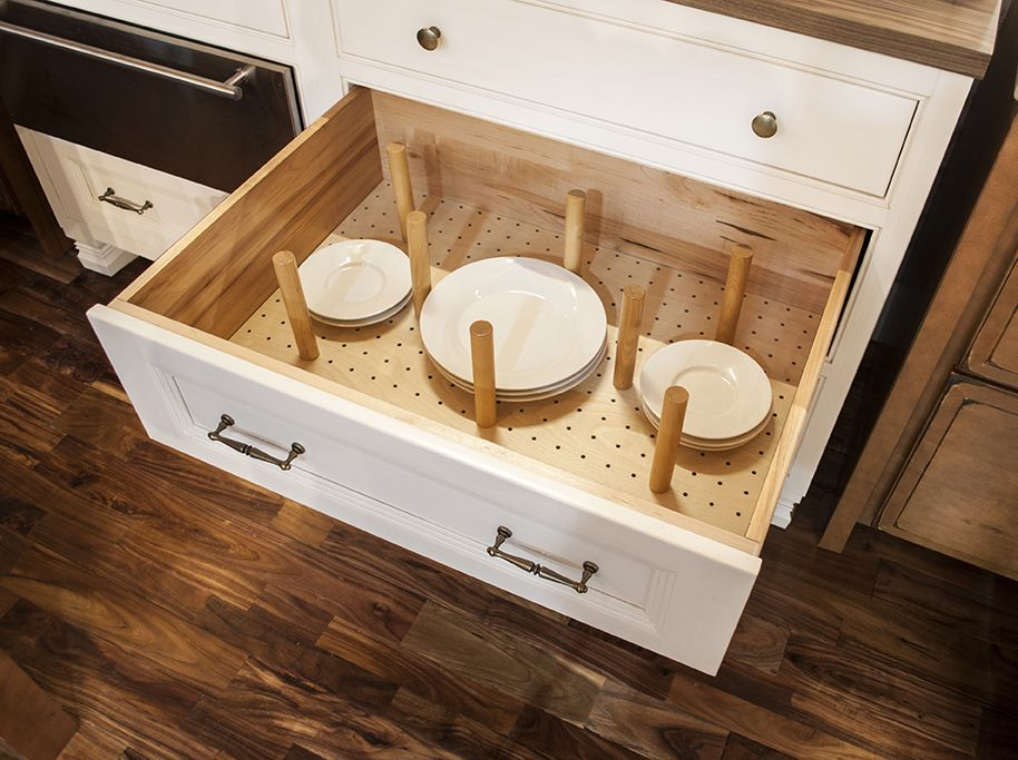 Organization Is Personalized With This Deep Drawer Pegged