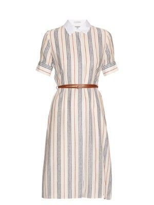 Kieran striped crepe de Chine shirtdress Altuzarra TDIi11IA