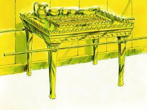 Free Bible illustrations at Free Bible images of Moses and the building of the Tabernacle. (Exodus 25 - 40) – Slide 17