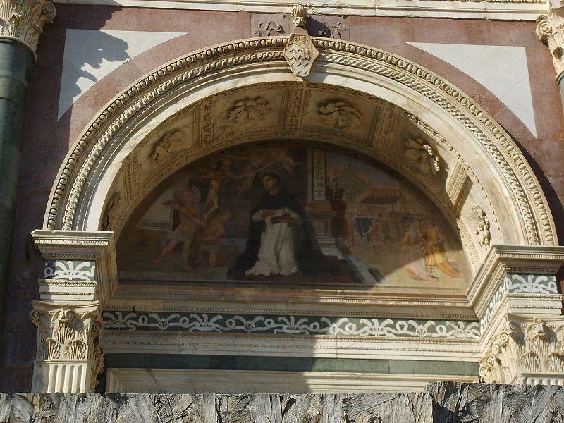 Arco De Medio Punto De Iglesia Santa Maria Novella Renacimiento Italiano Arte De La Antiguedad Iglesia