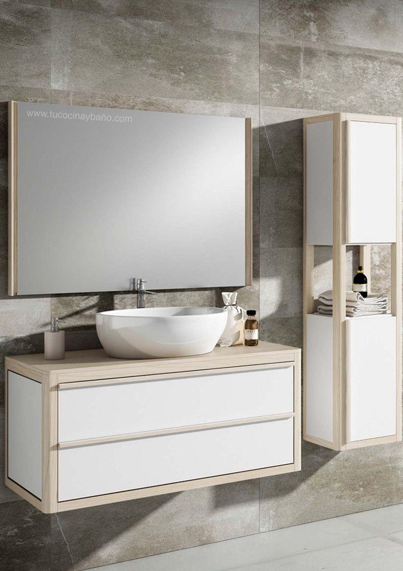 Mueble baño estilo nórdico | tu Cocina y Baño | MUEBLES DE ...