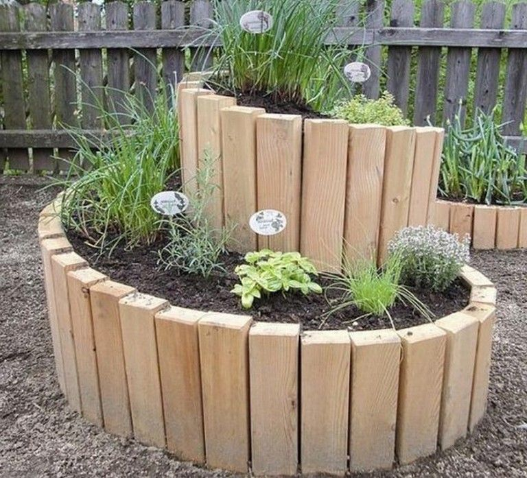 30 Admirable Diy Wood Planter Box Ideas For Your Amazing Garden Gardening Garden Gardendesign Garden Spiral Garden Diy Raised Garden Raised Garden Beds Diy
