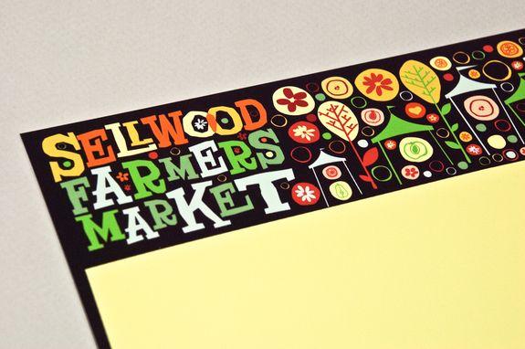Graphic Farmers Market Letterhead Template Sample Inkd identidad - letterhead example