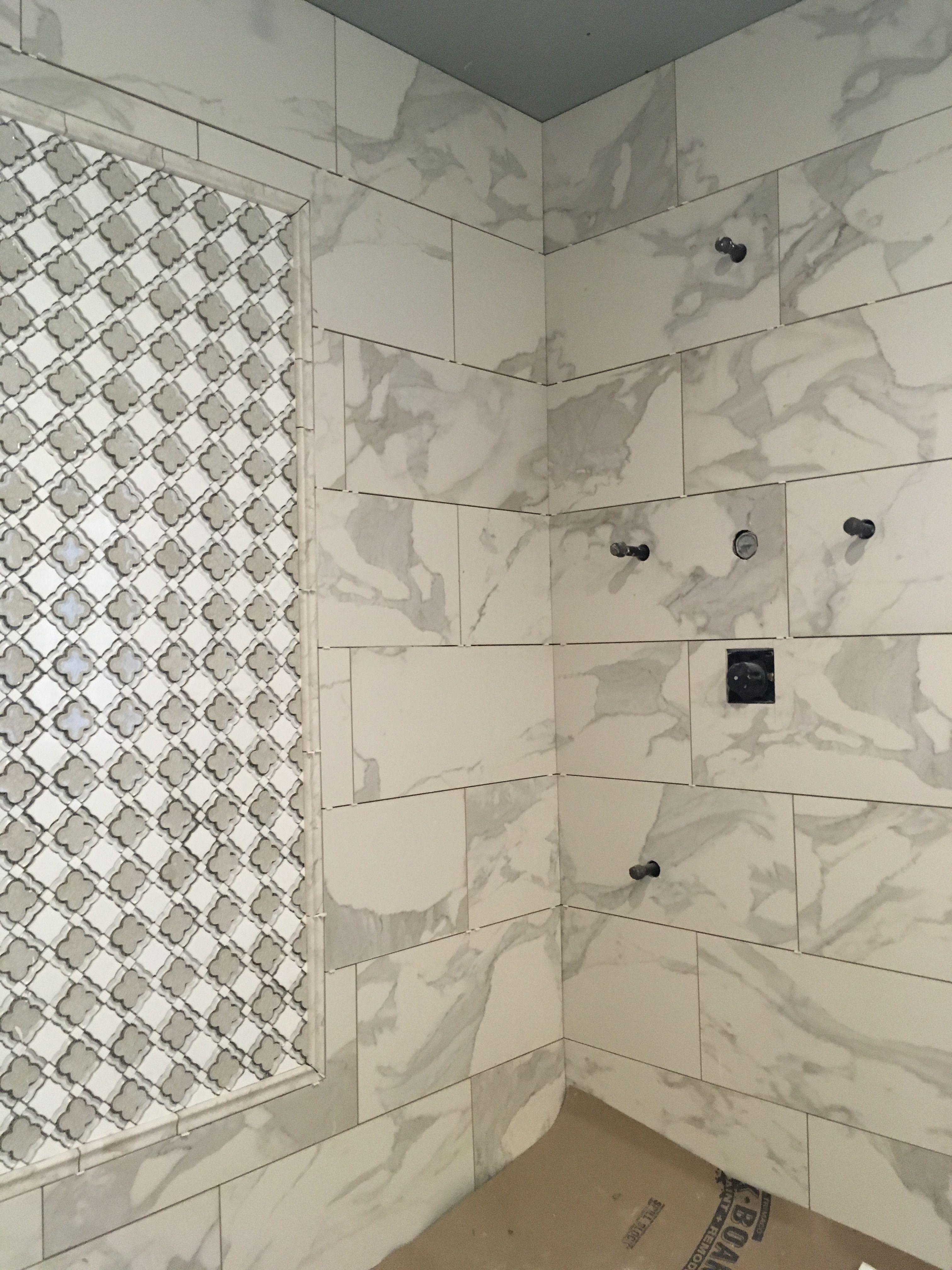 Marble Tile Insert Calcutta