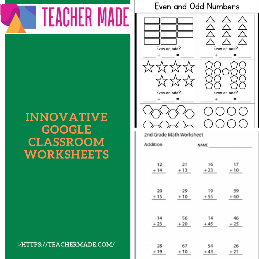 Innovative Google Classroom Worksheets On Teacher Made 2nd Grade Math Worksheets Google Classroom Collaborative Learning [ 1080 x 1080 Pixel ]