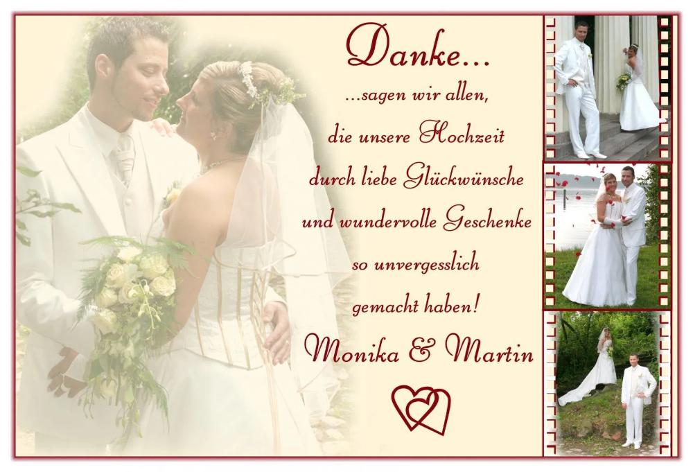 Dankeskarten Hochzeit Dankeskarte Hochzeit Text Danksagung Karten Danksagung Karten