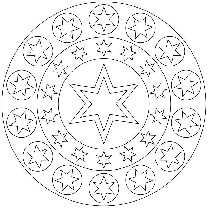 Schön Mandala Malvorlagen Für Kinder Fotos - Druckbare Malvorlagen ...