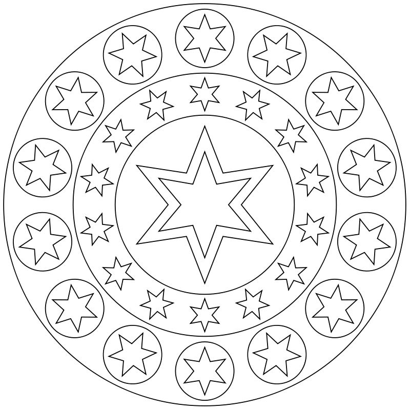 mandalas 1 | Mandala Coloring Pages | Pinterest | Malvorlagen ...