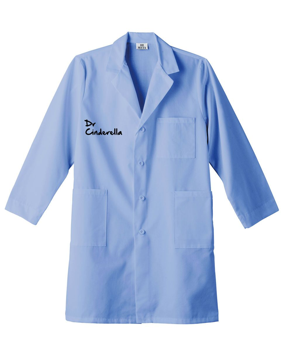 2dc89119722 Dr Cinderella name tag lab coat | Dr Cinderalla - Mood Board ...