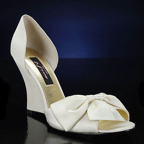 Wedding Shoes For Bride Bridal Low Heel 2015 Flats Wedges PIcs In Pakistan Mid