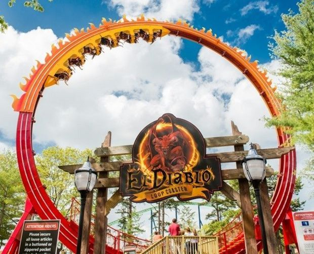 New Jersey S Best Thrill Rides Best Amusement Parks Six Flags Great Adventure Thrill Ride
