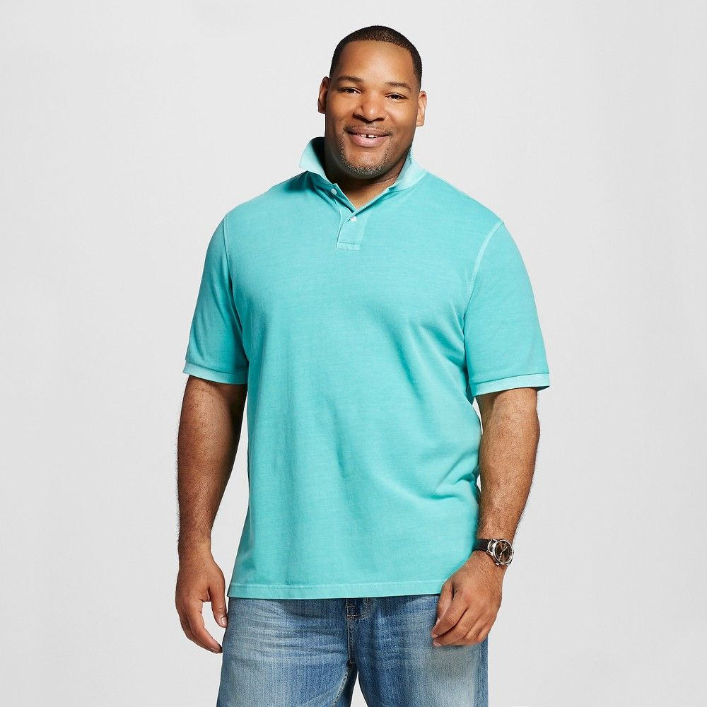 Merona Ultimate Polo Shirt Berry Cobbler Size MT XLT XXLT XXXLT NWT Clearance