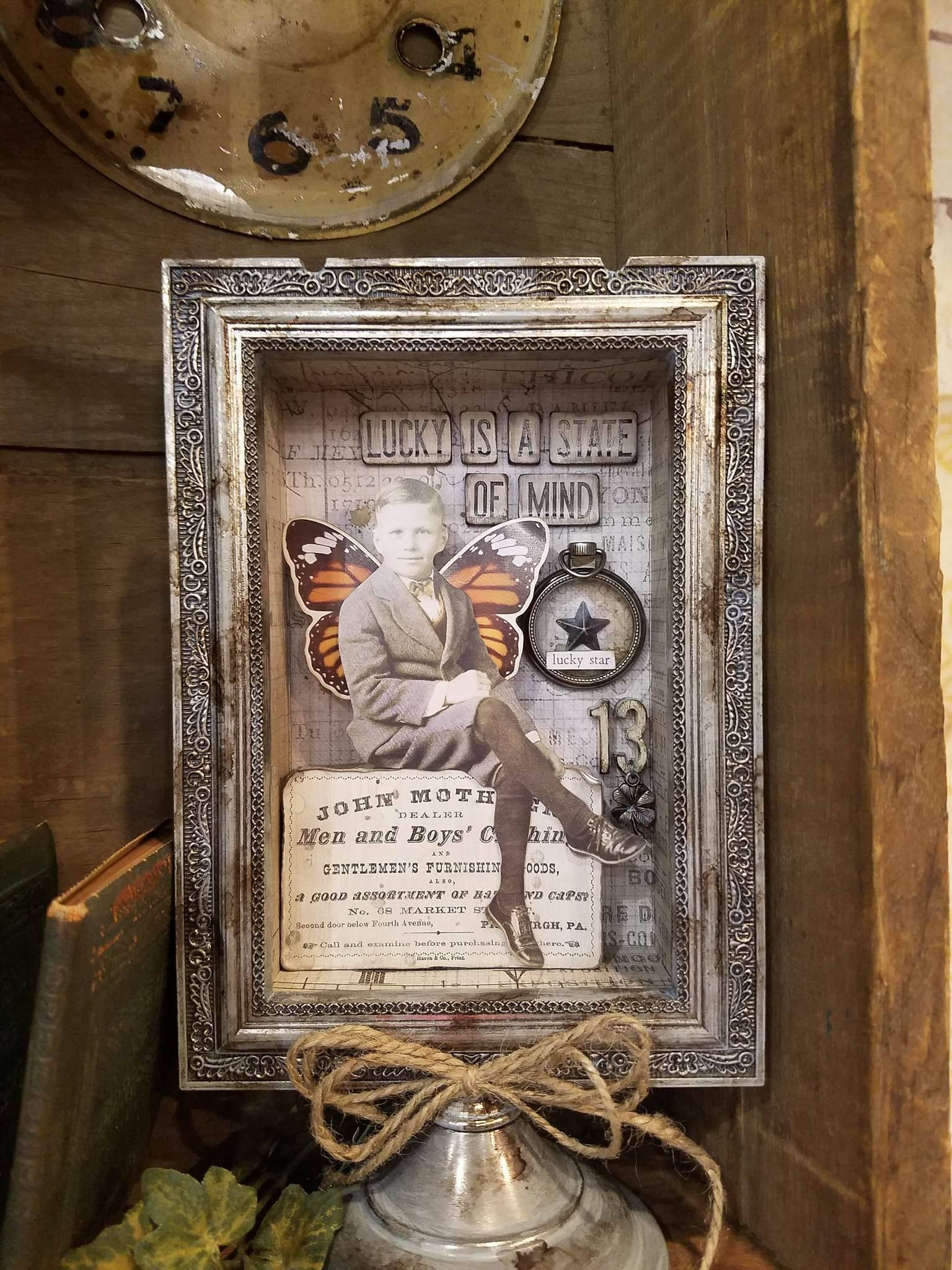 Pin By My Rusty Crown On Cha 2017 Tim Holtz Assemblage