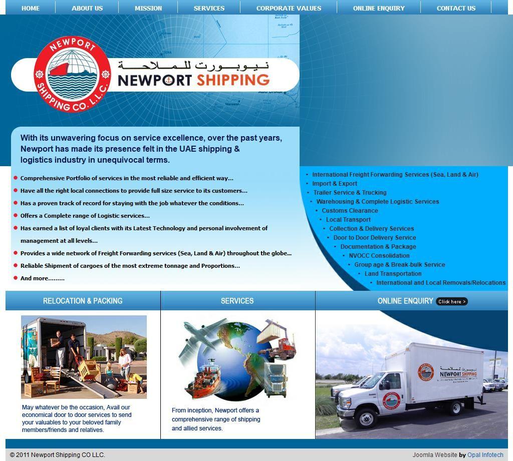 Newport Shipping Company Llc Al Attar Centre 61 Sheikh Khalifa