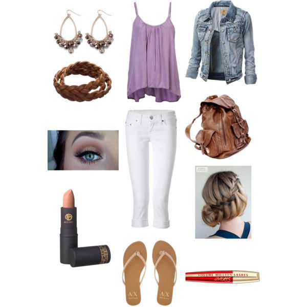 Seventh Day of School by kewlcam on Polyvore featuring Sam