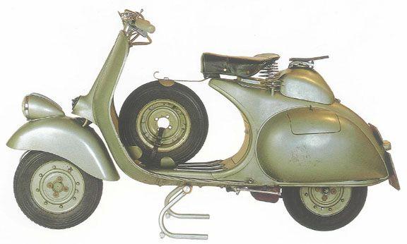 vespa 125 faro basso 1953 prezzo