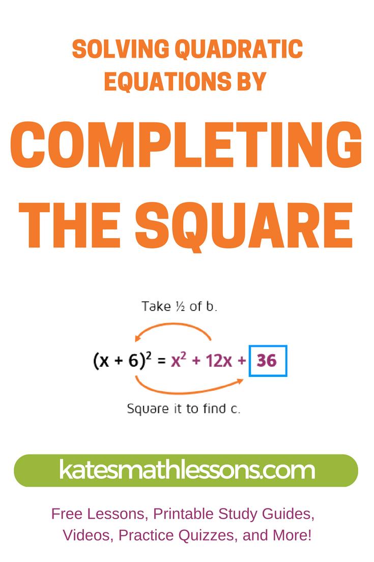 3 Ways to Memorize the Quadratic Formula - wikiHow