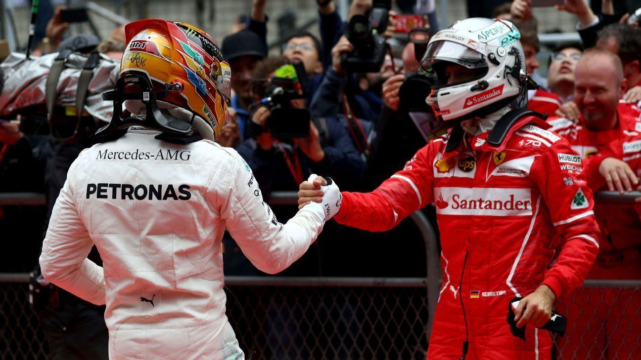 Hamilton vs Vettel, Tied...for now